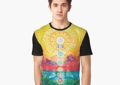 Sol Vibes Graphic Shirt Designed by Annelie Solis