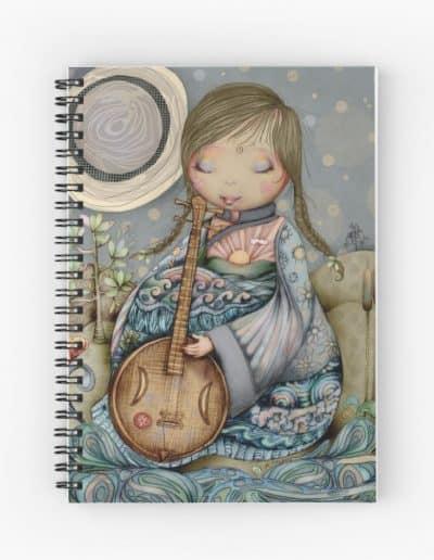 Moon Guitar Notebook