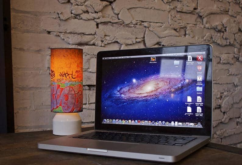 Street art, Graffiti Art, Desk Unique Handmade Table Lamps