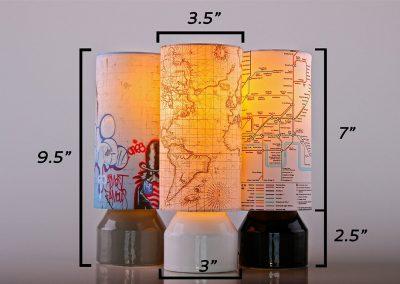 streetart tablelamps 3g