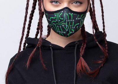PCB Computer Fashion Washable Face Mask
